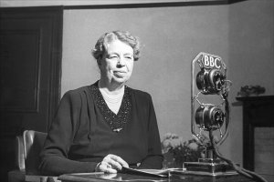 Eleanor Roosevelt - Radio commentor