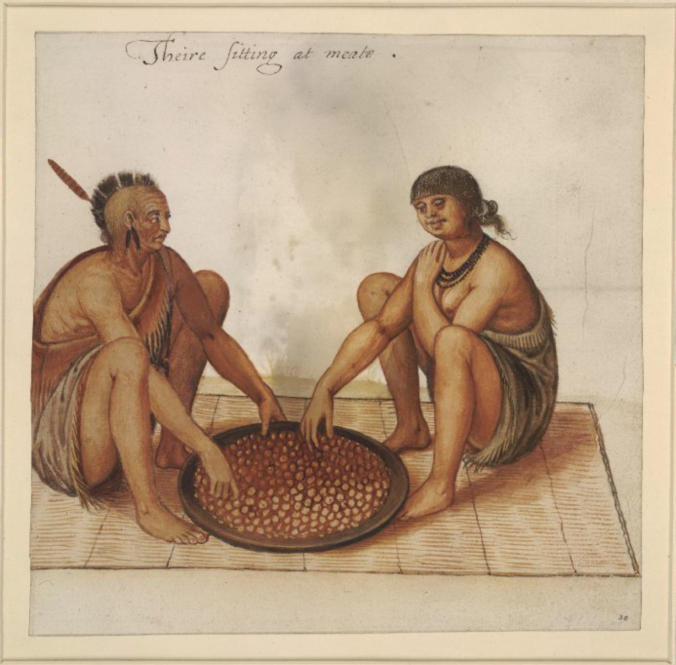 Indians Eating Corn - John White