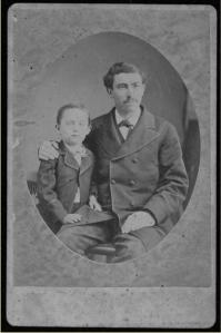 Simon Baruch & Patient - 1880