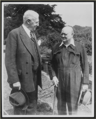 Bernard and Churchill