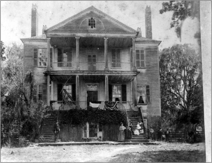 Arcadia Plantation c. 1893 - CCPL