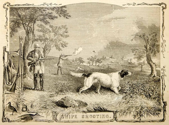 Snipe Shooting, 1855